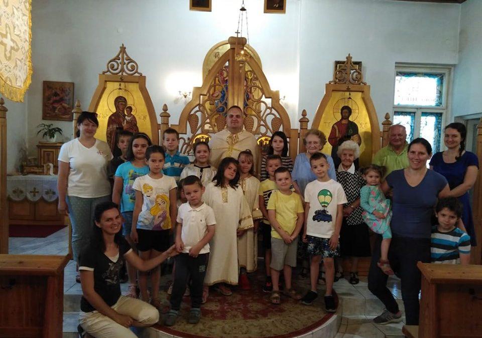 Wáczek Tímea beszámolója: Nyári tábor a Kispesti Görög Katolikus Parókián